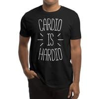 Cardio is Hardio - mens-regular-tee - small view
