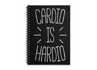 Cardio is Hardio - spiral-notebook - small view