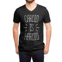 Cardio is Hardio - vneck - small view