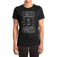 Cardio is Hardio - womens-extra-soft-tee - small view