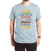 Tomorrow I'll Start Running - mens-extra-soft-tee - small view