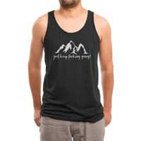 Just Keep Fucking Going - mens-triblend-tank - small view