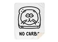 No Carbs - blanket - small view
