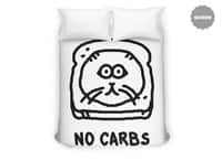 No Carbs - duvet-cover - small view