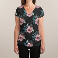 Swallows and Amazons - womens-sublimated-v-neck - small view