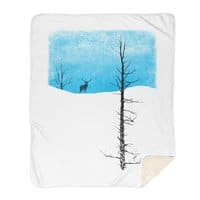 Lonely Tree - blanket - small view