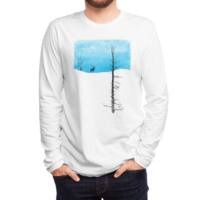Lonely Tree - mens-long-sleeve-tee - small view