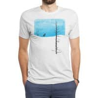 Lonely Tree - mens-triblend-tee - small view