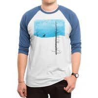 Lonely Tree - triblend-34-sleeve-raglan-tee - small view