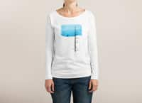 Lonely Tree - womens-long-sleeve-terry-scoop - small view