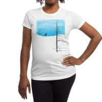 Lonely Tree - womens-regular-tee - small view
