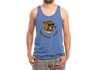 Dangerous Cheese - mens-triblend-tank - small view