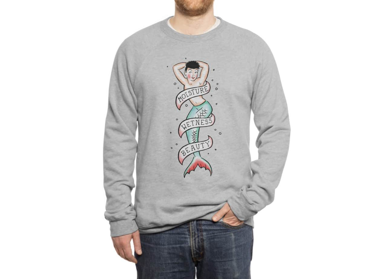 sailor merman tattoo by sean mens regular tee threadless