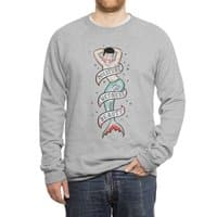 Sailor Merman Tattoo - crew-sweatshirt - small view