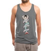 Sailor Merman Tattoo - mens-triblend-tank - small view