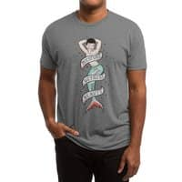Sailor Merman Tattoo - mens-triblend-tee - small view