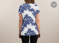Chinese Porcelain - womens-sublimated-v-neck - small view