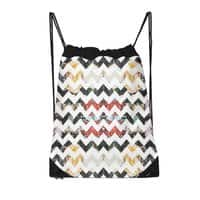 Her Garden Chevron - drawstring-bag - small view