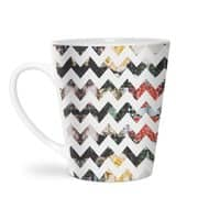 Her Garden Chevron - latte-mug - small view