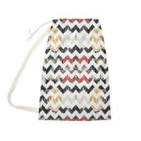 Her Garden Chevron - laundry-bag - small view