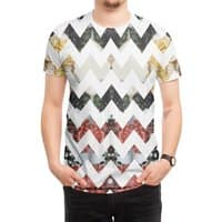Her Garden Chevron - mens-sublimated-tee - small view