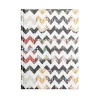 Her Garden Chevron - notebook - small view