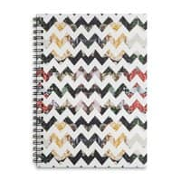 Her Garden Chevron - spiral-notebook - small view