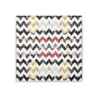 Her Garden Chevron - square-stretched-canvas - small view