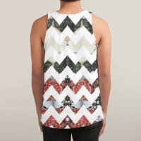 Her Garden Chevron - sublimated-tank - small view