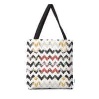 Her Garden Chevron - tote-bag - small view