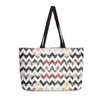 Her Garden Chevron - weekender-tote - small view