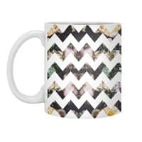 Her Garden Chevron - white-mug - small view