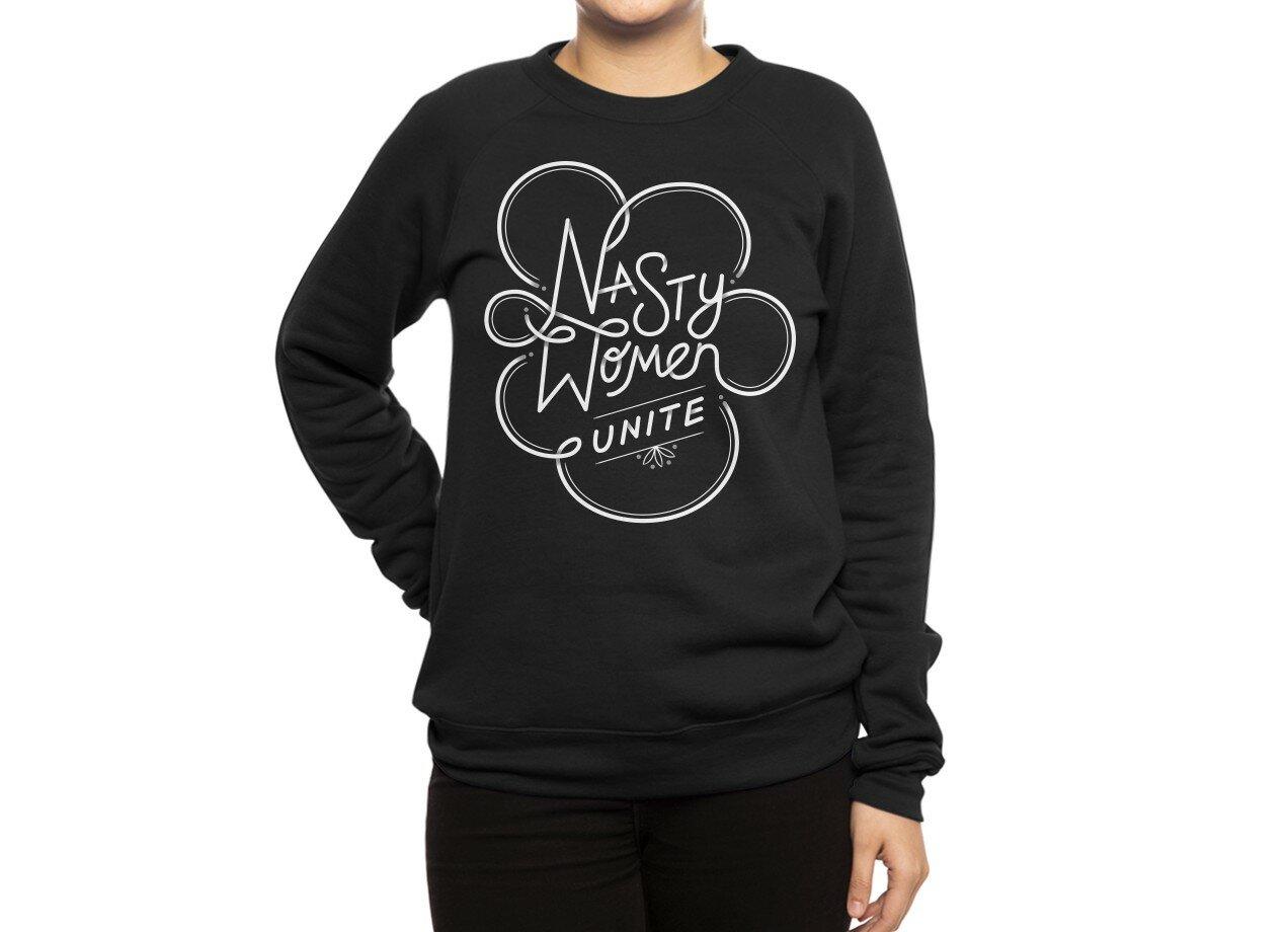 3eeebca1 Nasty Women Unite by Simi Mahtani | Crew Sweatshirt Threadless