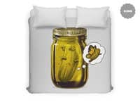 Pickle Metamorphosis - duvet-cover - small view