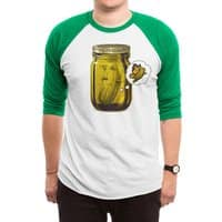 Pickle Metamorphosis - triblend-34-sleeve-raglan-tee - small view