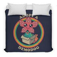 Adopt a Demodog - duvet-cover - small view