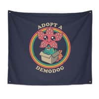 Adopt a Demodog - indoor-wall-tapestry - small view