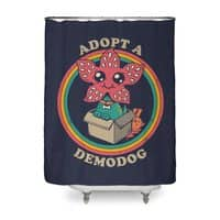 Adopt a Demodog - shower-curtain - small view