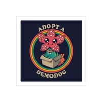 Adopt a Demodog - square-print - small view