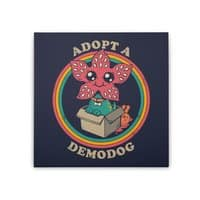 Adopt a Demodog - square-stretched-canvas - small view