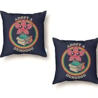 Adopt a Demodog - throw-pillow - small view