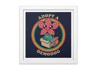 Adopt a Demodog - white-square-framed-print - small view