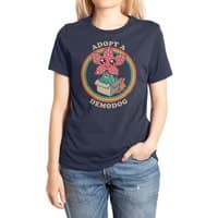 Adopt a Demodog - womens-extra-soft-tee - small view