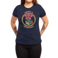 Adopt a Demodog - womens-triblend-tee - small view