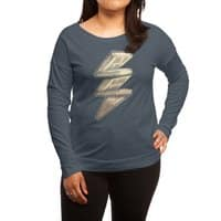 Knowledge is Power! - womens-long-sleeve-terry-scoop - small view