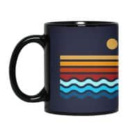 Beach Stack - black-mug - small view