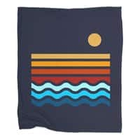 Beach Stack - blanket - small view