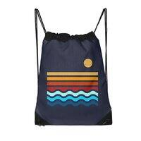 Beach Stack - drawstring-bag - small view