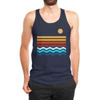 Beach Stack - mens-jersey-tank - small view