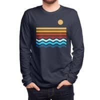 Beach Stack - mens-long-sleeve-tee - small view
